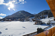 Great location right at the piste in Flachau